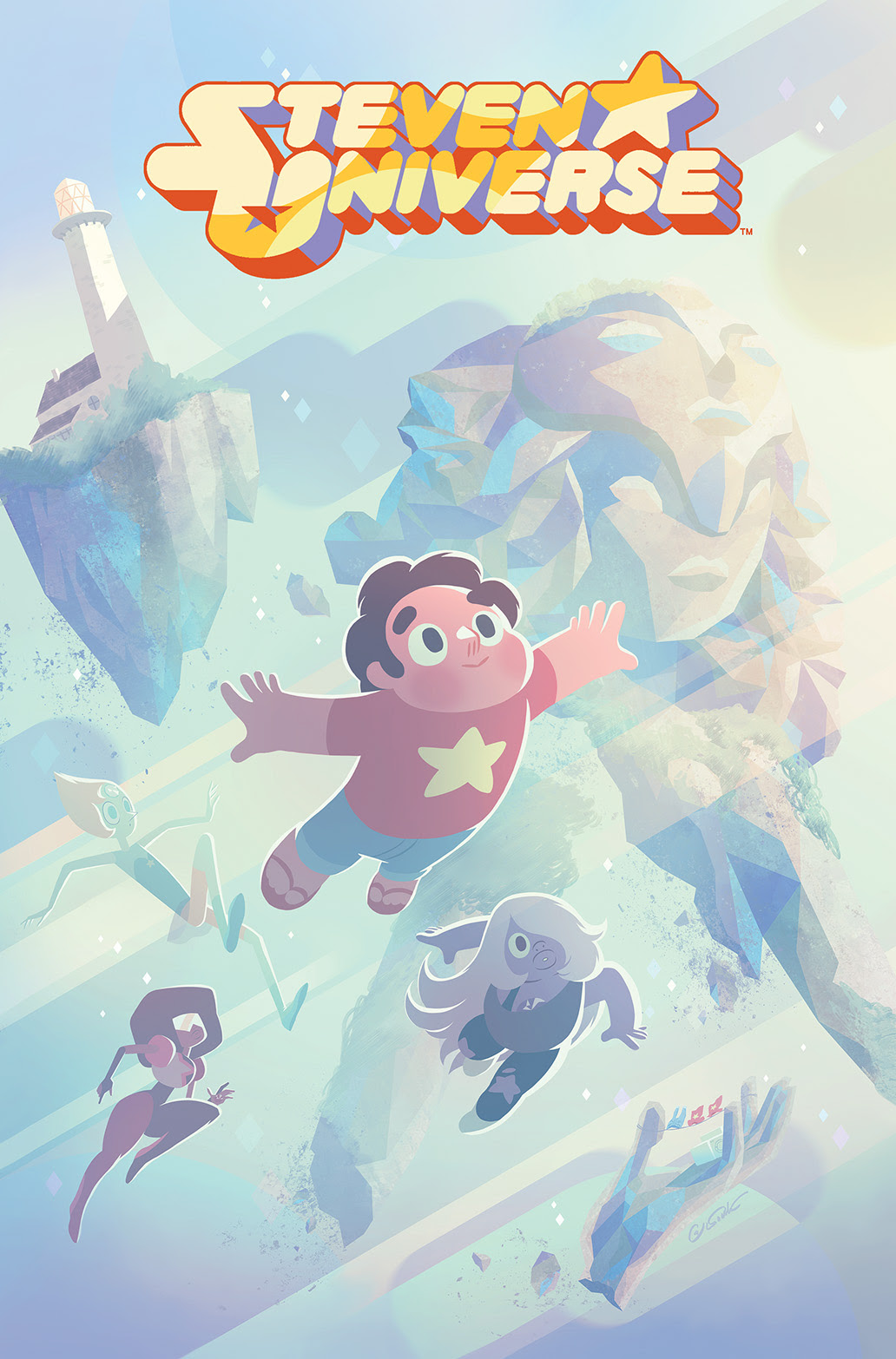 STEVEN UNIVERSE #2 Cover A by George Caltsoudas