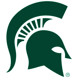 Image result for Michigan State spartans logo blank background