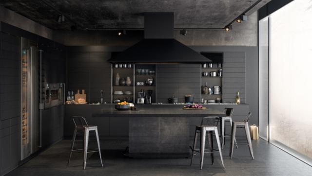 """Immagine  - """"Paint it black"""": 8 idee per dare un'aria moderna e sofisticata alla cucina"""