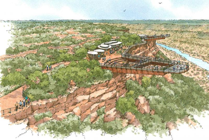 Kalbarri Skywalk -artist impression