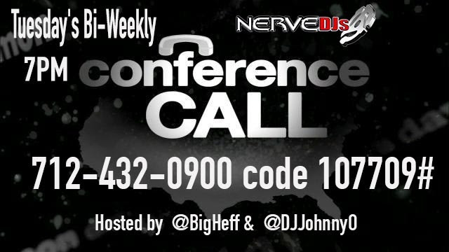 Nerve conference call banner
