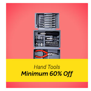 Minimum 60% Off Hand Tools
