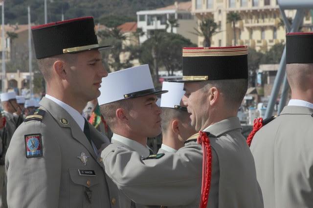Prise d'armes et défilé en ville pour le cinquantenaire de l'arrivée du 2e REP à Calvi Gal-4499505