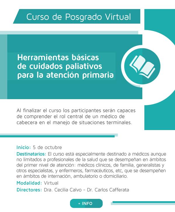 Herramientas básicas de cuidados paliativos para la atención primaria