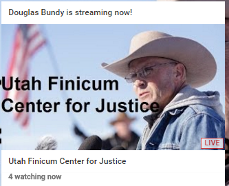 Live Steam: Utah Finicum Center for Justice - Special Report From Burns OR (Videos)