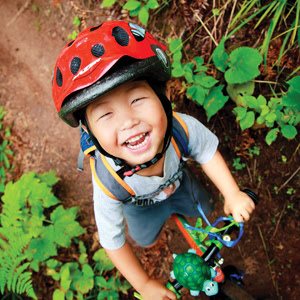 Cute Kid on MTB