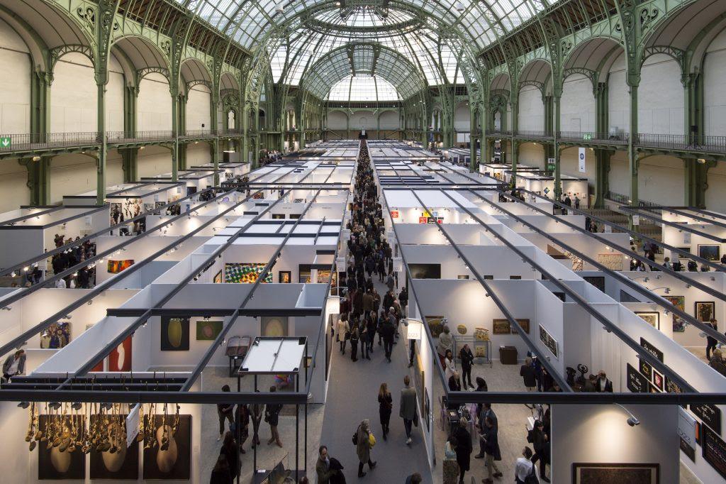 Art Paris at the Grand Palais. Image courtesy Art Paris.