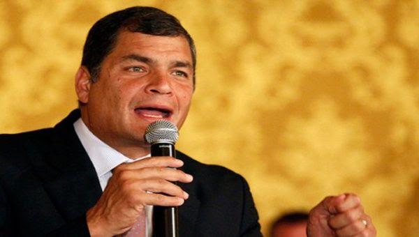 Rafael Correa celebra que Ecuador reciba la presidencia pro témpore de la Celac. (Foto: Cuba Debate)
