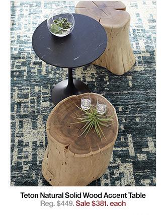 Teton Natural Solid Wood