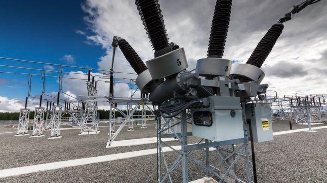 Aparelhos de distribuição elétrica em central