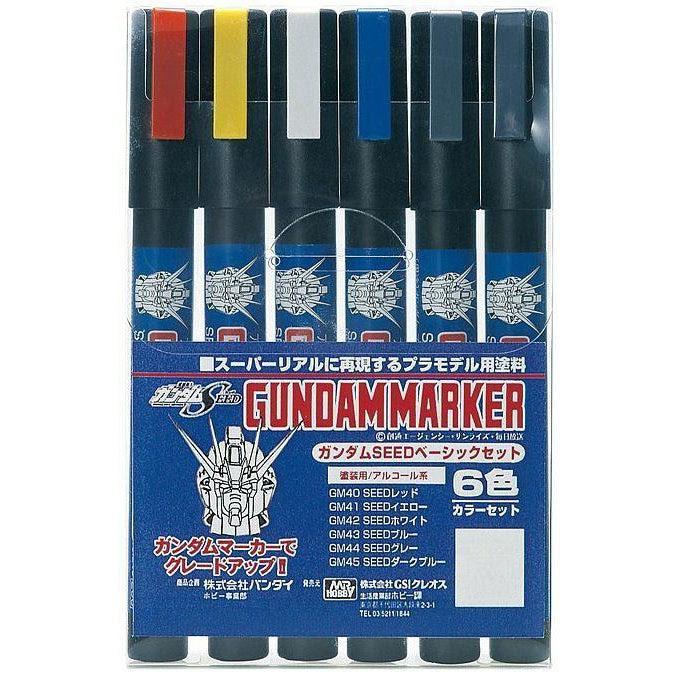 Image of GMS109 Gundam Marker Seed Basic Set