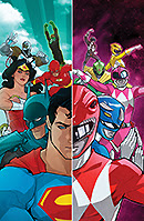 Justice League Power Rangers 1