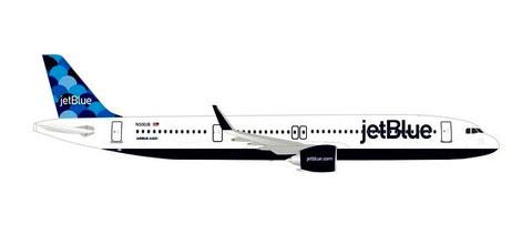 Airbus A321neo, JetBlue, - N2002J 'Balloons' tail' | Is due Nov/Dec 2019