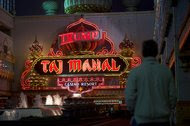 """Donald J. Trump heralded the Trump Taj Mahal as """"the eighth wonder of the world"""" when it opened in 1990. The casino's management says it will close next month."""