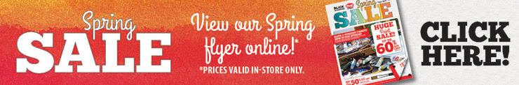 View our Spring Flyer Online!