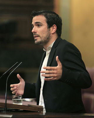El diputado de Izquierda Unida en el Congreso de los Diputados, Alberto Garzón.