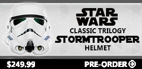 STAR WARS STORMTROOPER CLASSIC TRILOGY HELMET