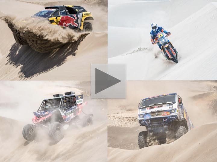 Huge distances in the desert as 2019 Dakar gets back underway