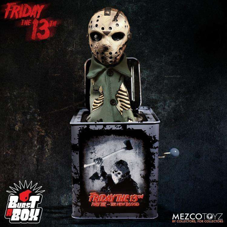 Image of Friday the 13th Part VII Burst-A-Box Jason Voorhees - January 2019