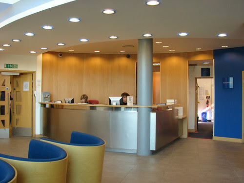 Reception Area, Technology Centre, SETsquared,...