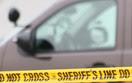 Squad car and crimetape