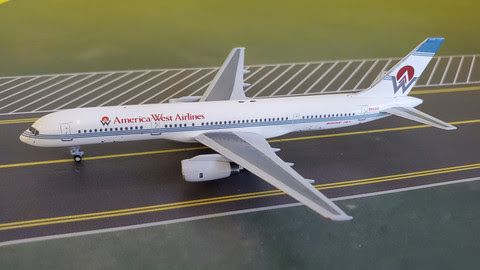 757-200 America West 'Old Colours'