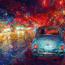 Image result for impressionist vw bug