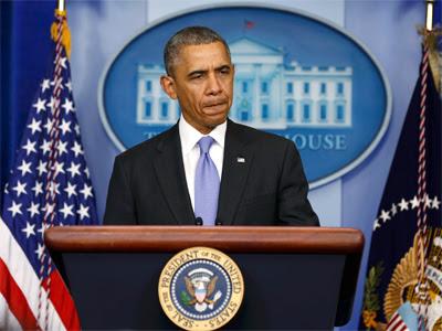 Obama, este miércoles. REUTERS/Larry Downing