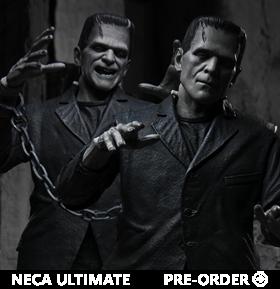 Universal Monsters Ultimate Frankenstein's Monster (Black & White) Figure