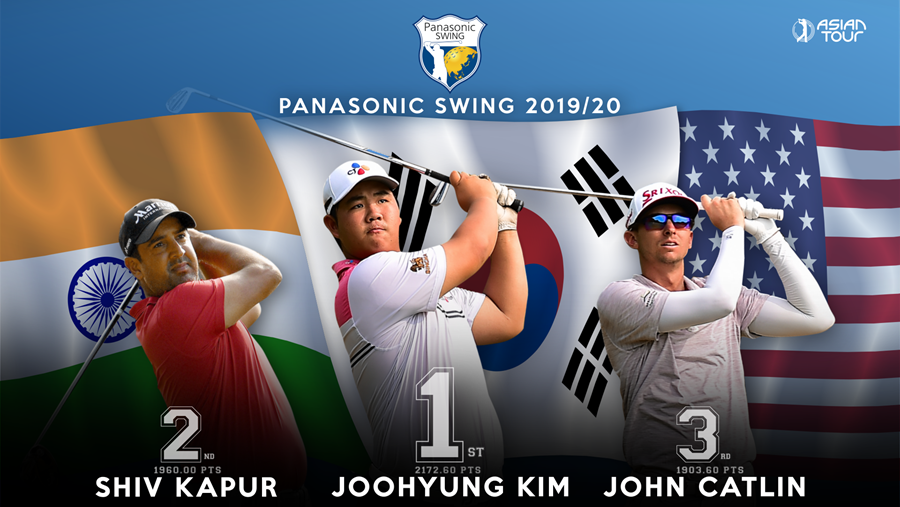 Top-3 winners of the 2019/20 Panasonic Swing!