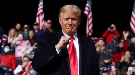 """Trump: """"No quiero esperar hasta 2024, quiero regresar a la Casa Blanca dentro de tres semanas"""""""