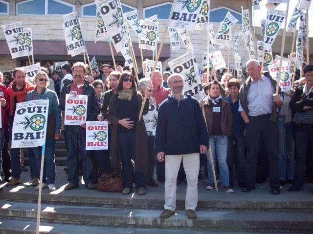 Mobilisation en faveur de la création de la Chambre d'Agriculture Alternative du Pays Basque, Euskal Herriko Laborantza Ganbara