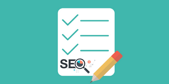Checklist for performing a basic SEO audit