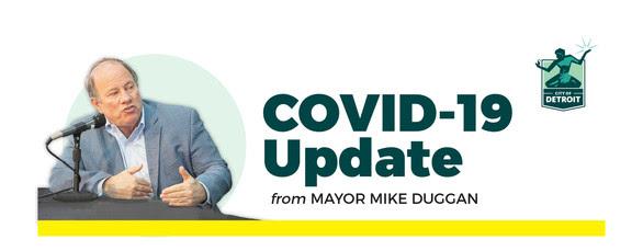 COVID Updated Masthead with New Mayor Photo