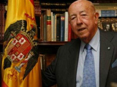 José Utrera Molina, exministro de Franco.