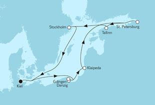 Ostsee & Baltikum mit Danzig