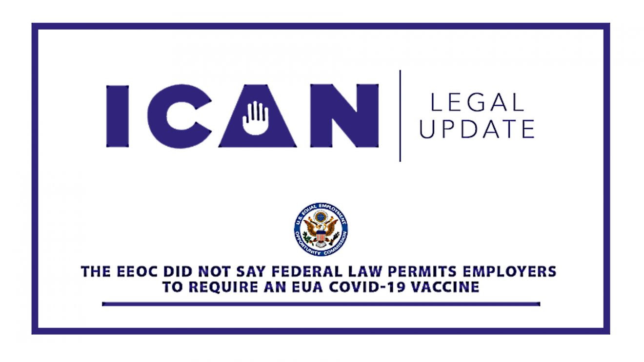 The EEOC Did Not Say Federal Law Permits Requiring a Covid-19 Vaccine Legal-1320x743