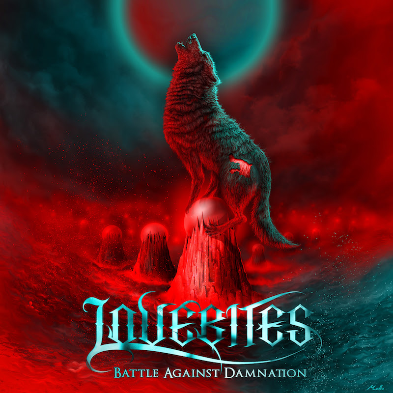 LOVEBITES – Battle Against Damnation cover art
