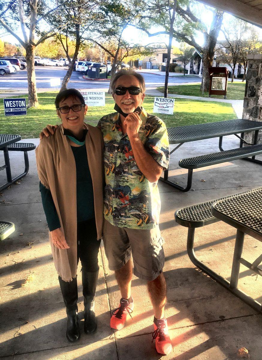 Randy and Jan Hopkins of Farmington, Utah