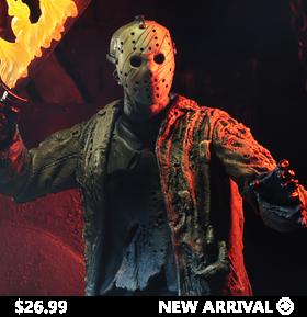 Freddy vs. Jason Ultimate Jason Voorhees Figure