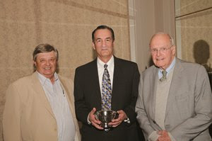 Clay Murdock (left) with Joe LaCombe and Sherwood Chillingworth at the 2015 CTBA awards dinner