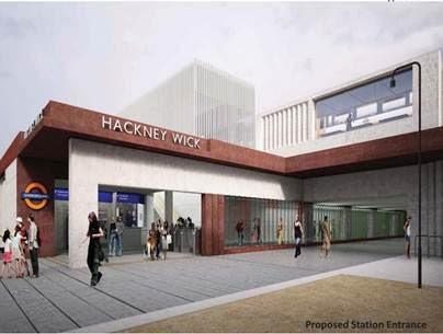 Hackney Wick Overground station set for transformation