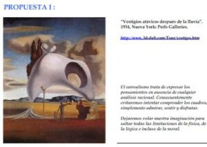 Dalí: genio y figura. El Surrealismo