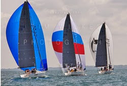 J/88 fleet sailing Can Am Challenge off Youngstown, NY