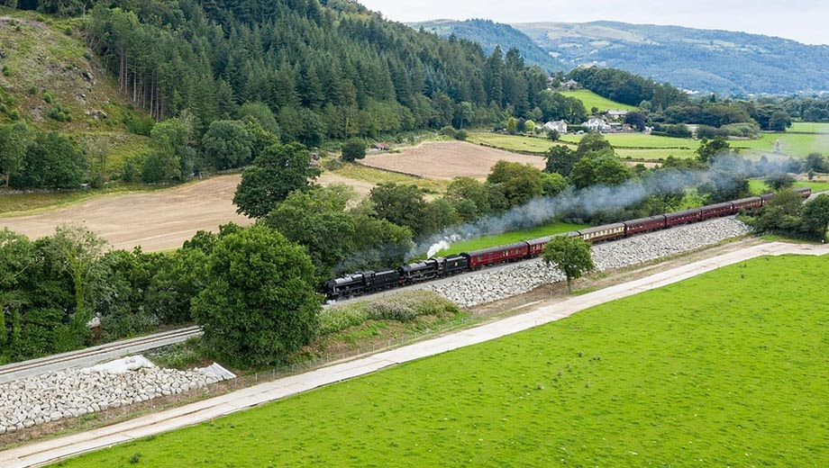 Full steam ahead for the Conwy Valley line