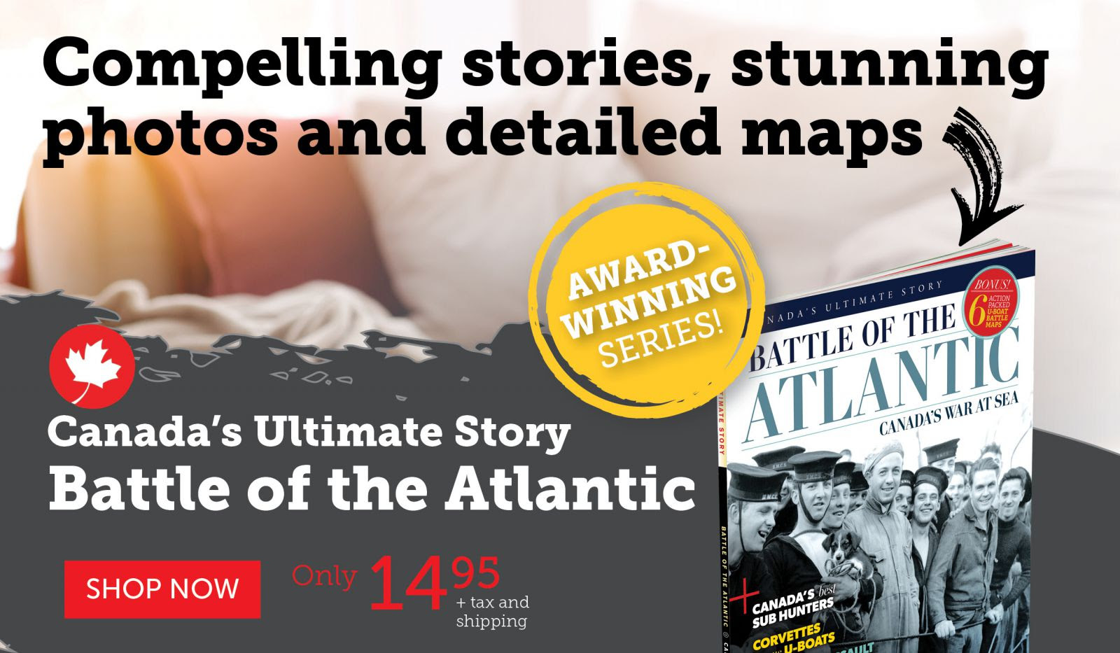 Battle of the Atlantic only $14.95!