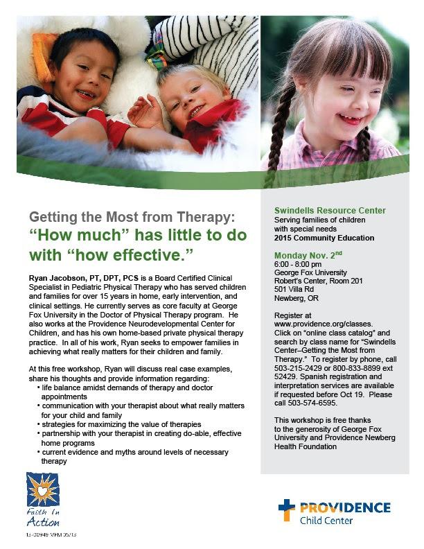 Developing our Children's Skills (Newberg) @ Providence St. Vincent Medical Center Conference Room 4 – 2 nd floor | Portland | Oregon | United States