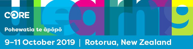 CORE uLearn19, 9-11 October 2019, Rotorua New Zealand