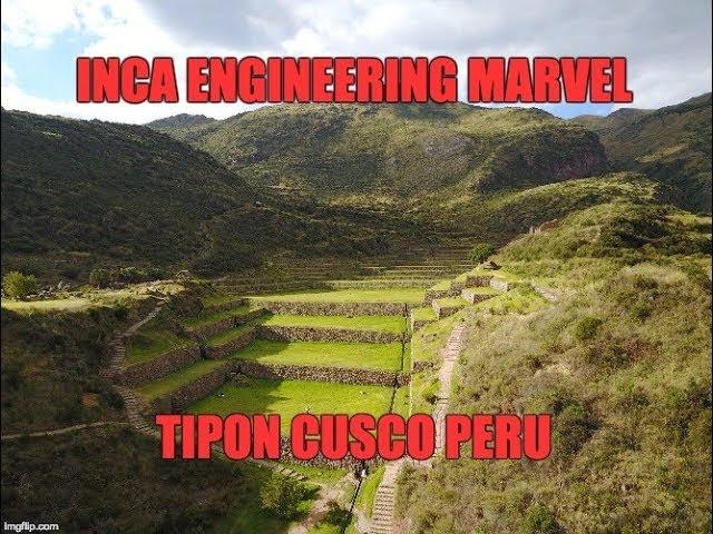 Inca Engineering Marvel: Tipon Near Cusco Peru  Sddefault