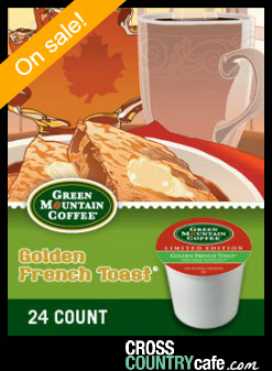 Green Mountain Golden French Toast Keurig K-cup coffee